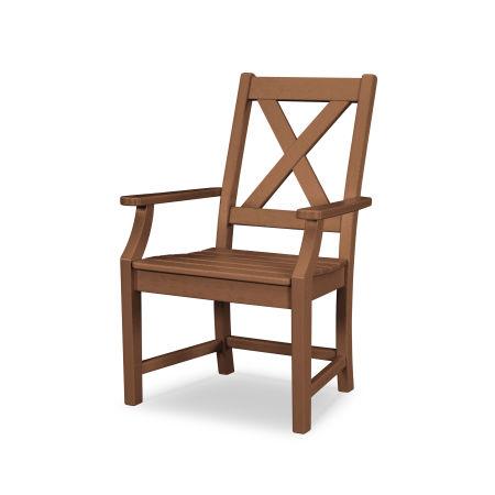 Braxton Dining Arm Chair in Teak