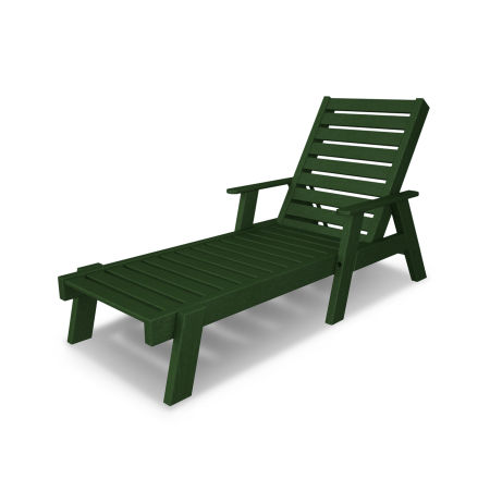 Captain Chaise with Arms in Green