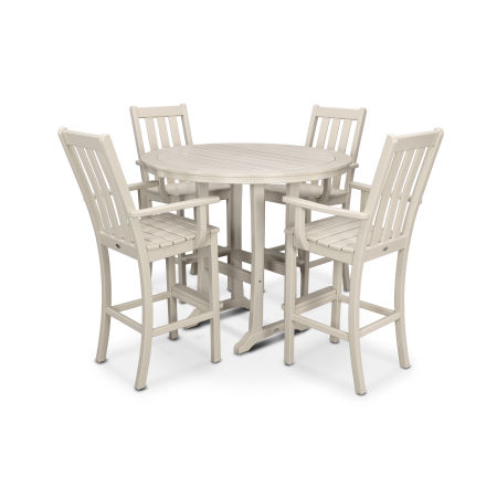 Vineyard 5-Piece Bar Set in Sand