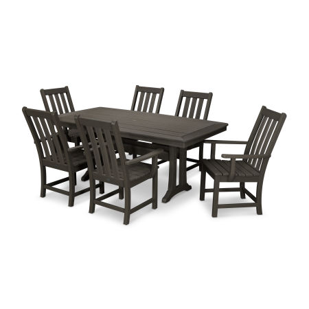 Vineyard 7-Piece Dining Set in Vintage Finish