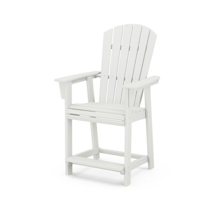 Nautical Adirondack Counter Chair in Vintage White