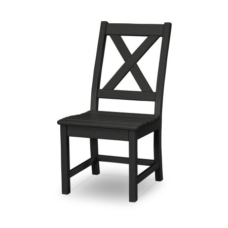 Braxton Dining Side Chair in Black