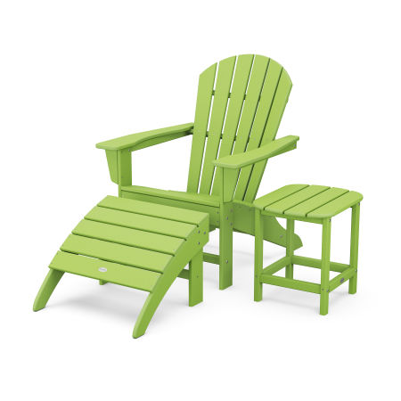 South Beach Adirondack 3-Piece Set in Lime