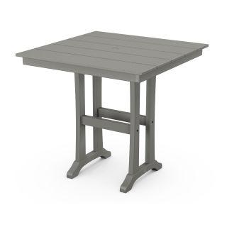 """Farmhouse Trestle 37"""" Counter Table"""