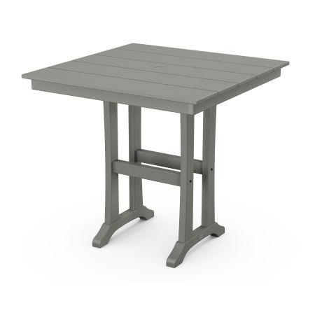 "Farmhouse Trestle 37"" Counter Table"