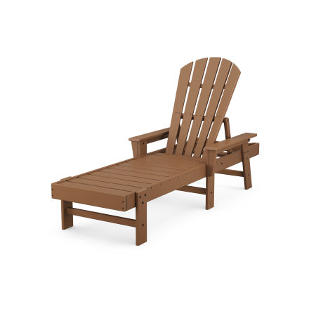 South Beach Chaise in Teak