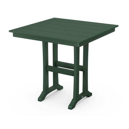 """37"""" Counter Table in Green"""