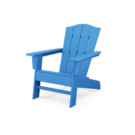 The Crest Chair in Pacific Blue