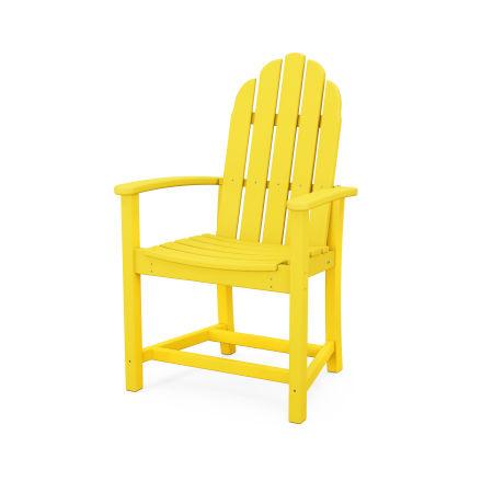 Classic Adirondack Dining Chair in Lemon