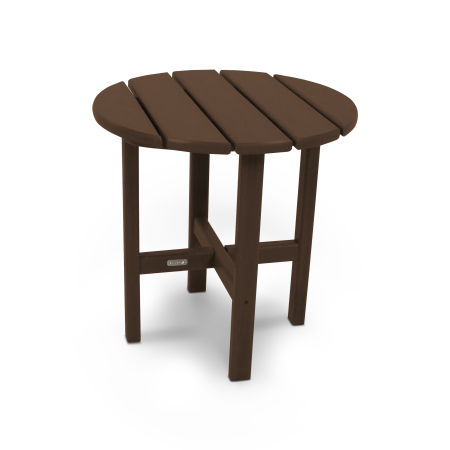 """18"""" Round Side Table by Ivy Terrace™ in Mahogany"""