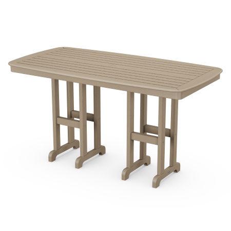 "Nautical 37"" x 72"" Counter Table in Vintage Sahara"