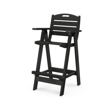 Nautical Bar Chair in Black
