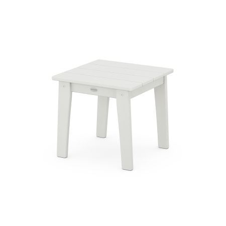 Lakeside End Table in Vintage White