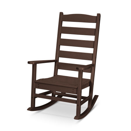 Shaker Porch Rocking Chair in Mahogany
