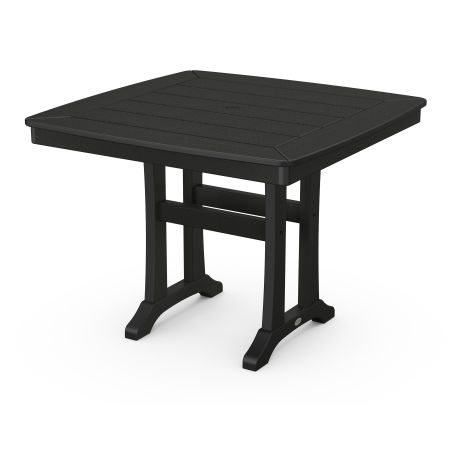 """37"""" Dining Table in Black"""