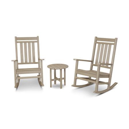 Estate 3-Piece Rocking Chair Set in Vintage Sahara