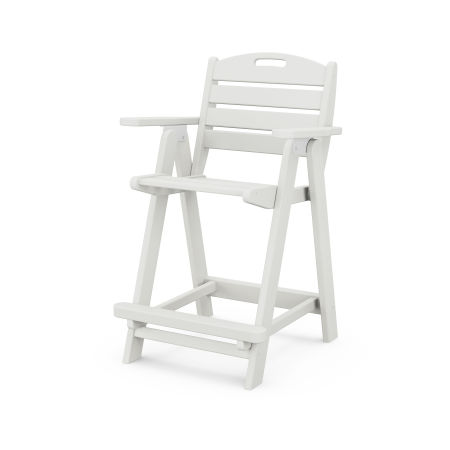 Nautical Counter Chair in Vintage White