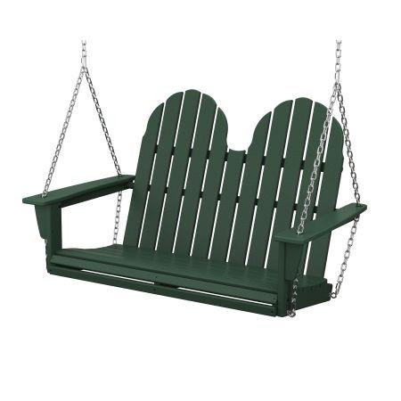 "Vineyard Adirondack 48"" Swing in Green"