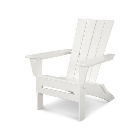 Quattro Folding Adirondack in White