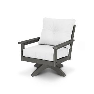 Vineyard Deep Seating Swivel Chair