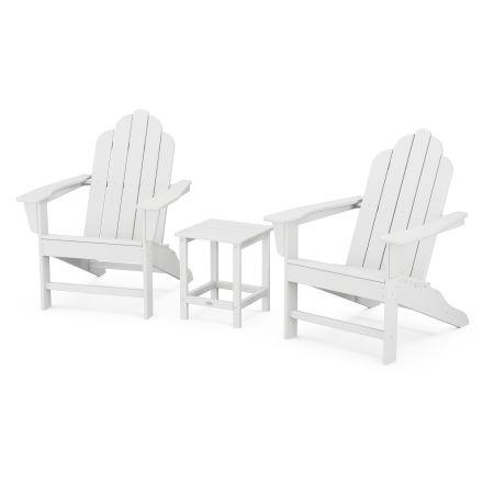 Long Island Adirondack 3-Piece Set in White