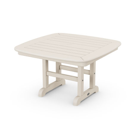 """Nautical 31"""" Conversation Table in Sand"""