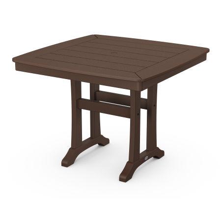 "37"" Dining Table in Mahogany"