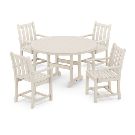 Traditional Garden 5-Piece Dining Set in Sand