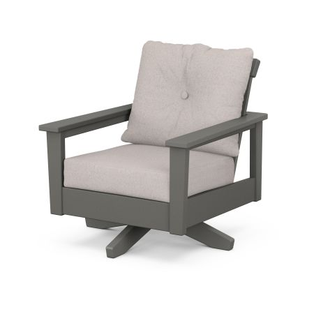 Prescott Deep Seating Swivel Chair