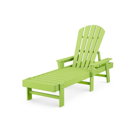 South Beach Chaise in Lime