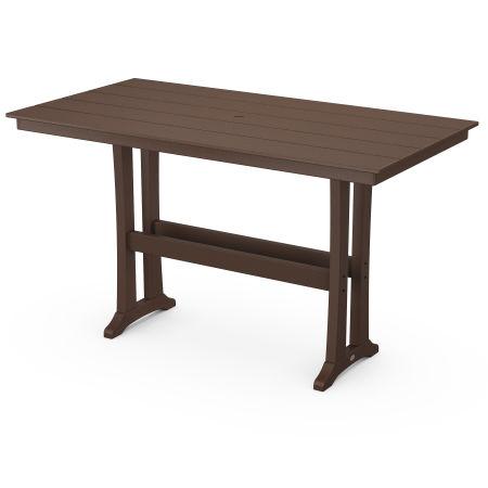 Bar Table in Mahogany