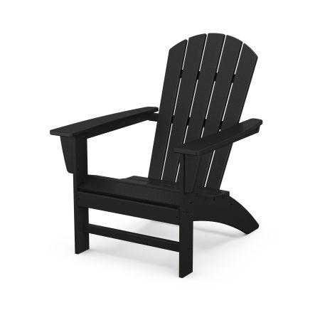 Nautical Adirondack Chair in Black