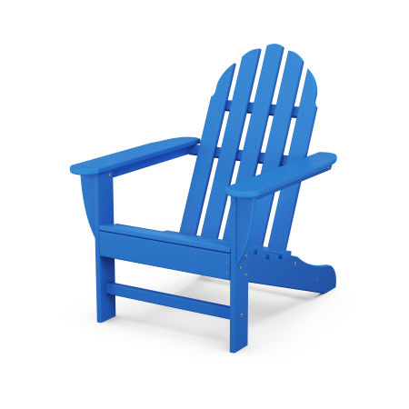 Classic Adirondack Chair in Pacific Blue