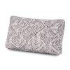 Outdoor Lumbar Pillow in Leona Indigo