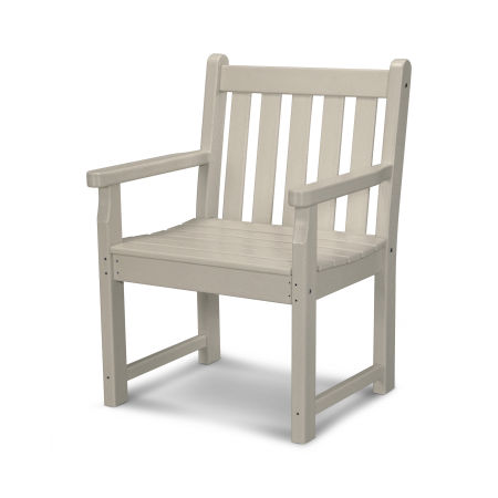 Traditional Garden Arm Chair in Sand
