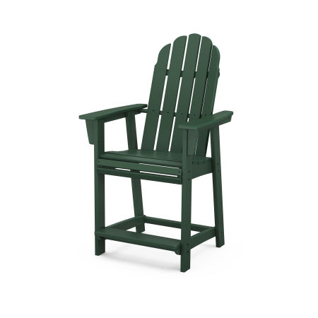Vineyard Adirondack Counter Chair in Green