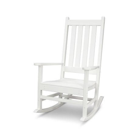 Vineyard Porch Rocking Chair in Vintage White