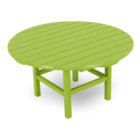 """Round 38"""" Conversation Table by Ivy Terrace in Lime"""