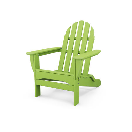 Classic Folding Adirondack in Lime