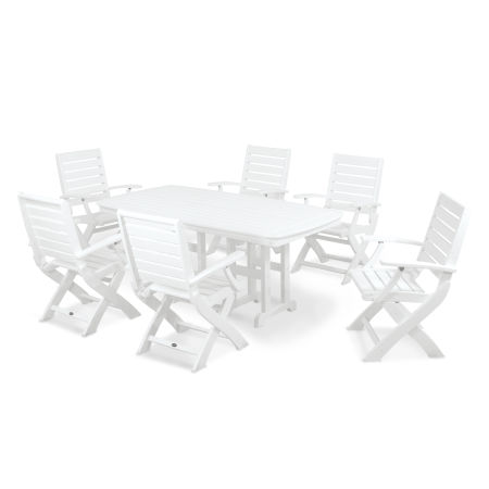 Signature 7-Piece Dining Set in White
