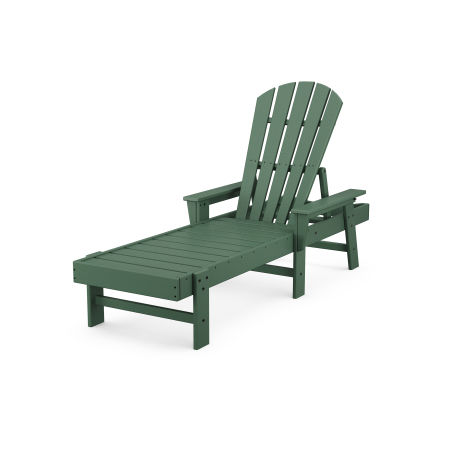 South Beach Chaise in Green