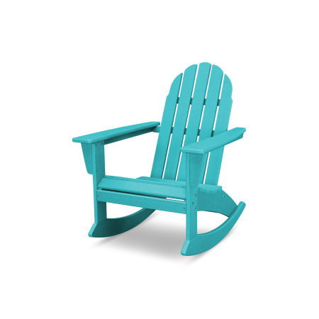 Vineyard Adirondack Rocking Chair in Vintage Aruba