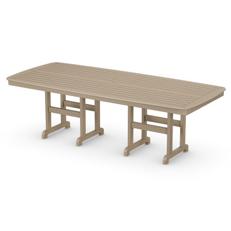 """Nautical 44"""" x 96"""" Dining Table in Vintage Sahara"""