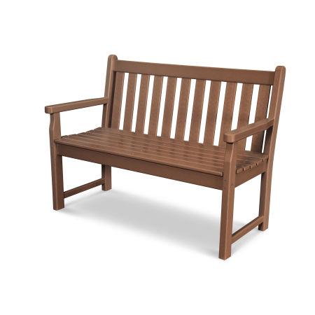"Traditional Garden 48"" Bench in Teak"