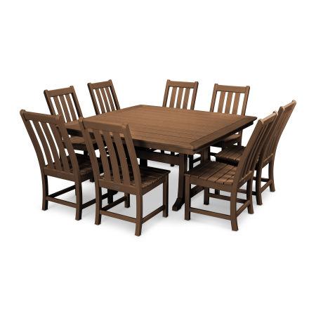 Vineyard 9-Piece Dining Set in Teak