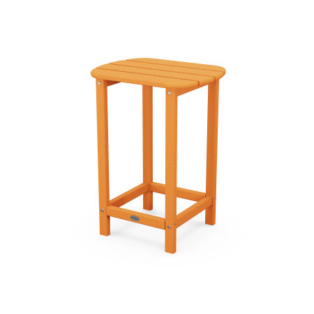 "26"" Counter Side Table in Tangerine"