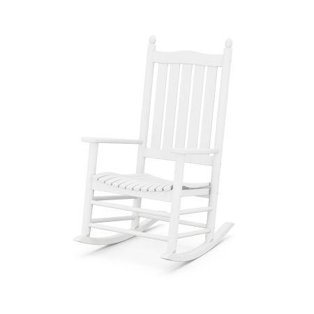 McGavin Rocking Chair in White