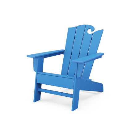The Ocean Chair in Pacific Blue