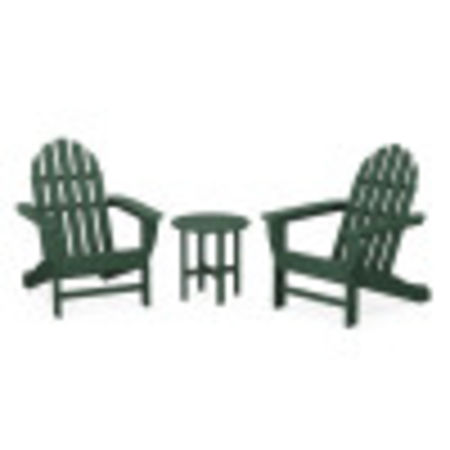 Classic Adirondack 3-Piece Set in Green