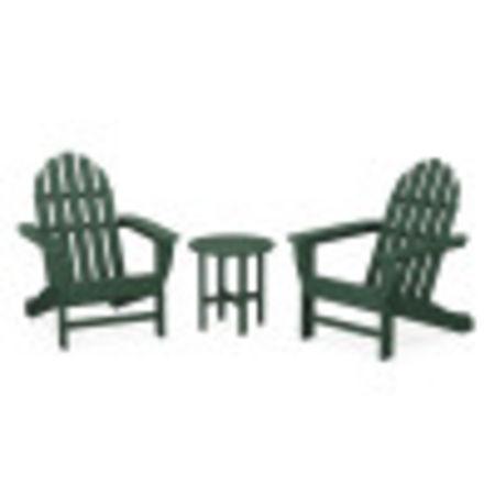 Classic Adirondack 3-Piece Set in Green